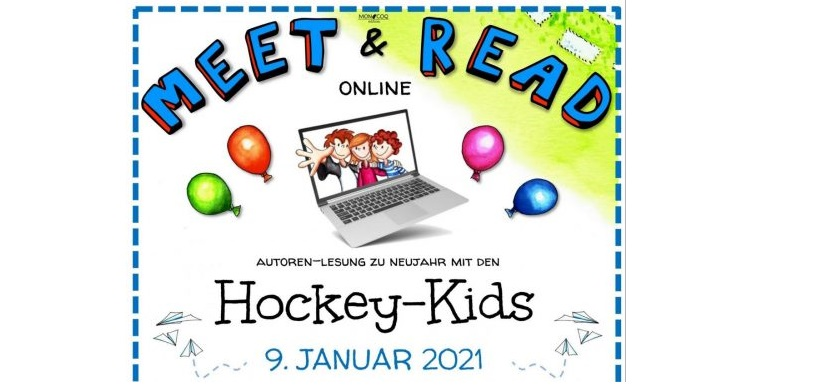 "Meet and Read mit den ""Hockey-Kids"""